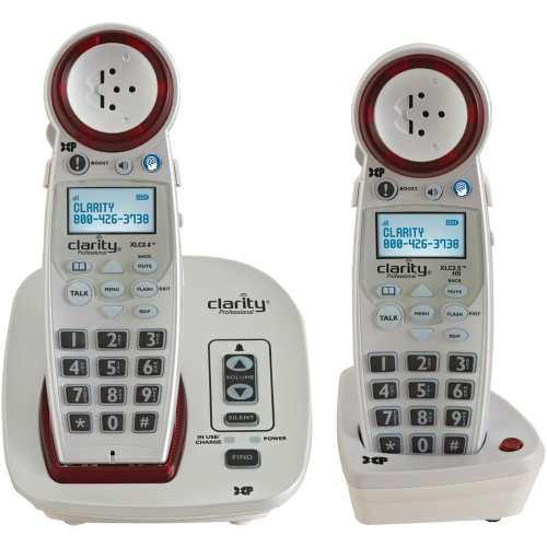Teléfono Para Personas Con Problemas Auditivos Clarity Y
