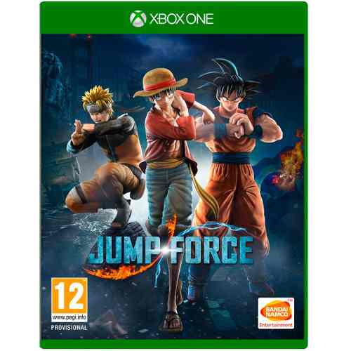 Videojuego Jump Force Combate Personajes Mangas Xbox One