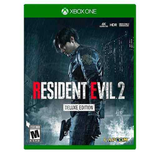 Videojuego Resident Evil 2 Deluxe Edition Horror Xbox One