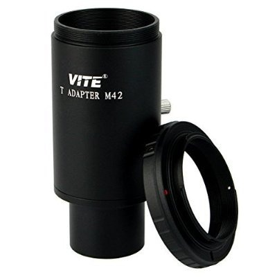 Vite Adaptador T 1,25 '' Y T-ring Para Nikon Slr Dslr Y Exte