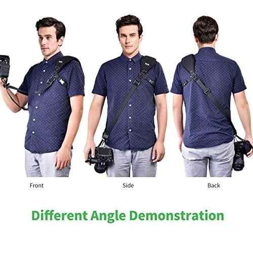 Zecti Camera Shoulder Neck Strap For Slr Dslr Mirrorless Dig