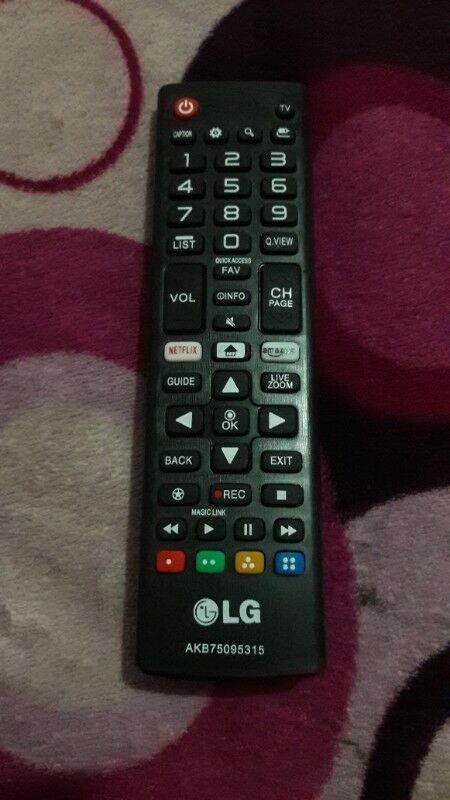 control remoto smart tv lg