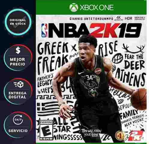 xbox Live] Nba 2k19 Xbox One - Código Digital