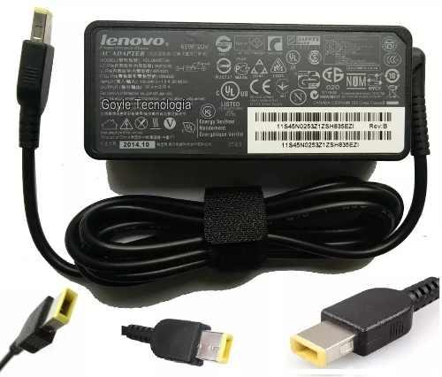 Cargador Original Lenovo Yoga Carbon X1 Usb 20v 3.25a Y 2.25