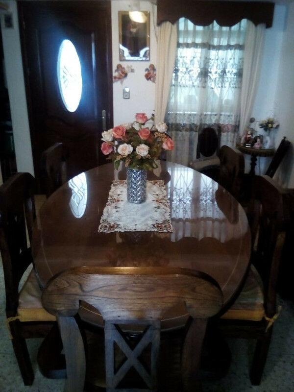 Comedor 8 sillas de cedro