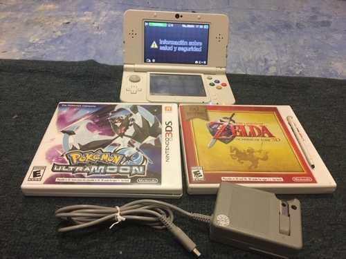 Consola Nintendo 3ds Con 2 Juegos