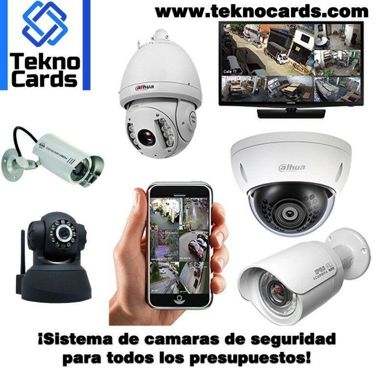 Instalación y venta de cámaras de vigilancia
