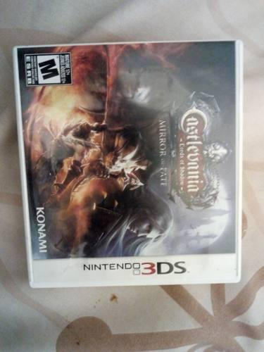 Juego Castlevania Lords Of Shadow Mirror Of Fate 3ds
