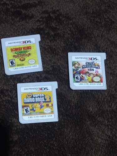 Juegos Nintendo 3ds Pack Baratisimo