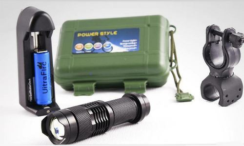 Lampara Tactica  Lumens Cree Led Recargable Dhl Gratis