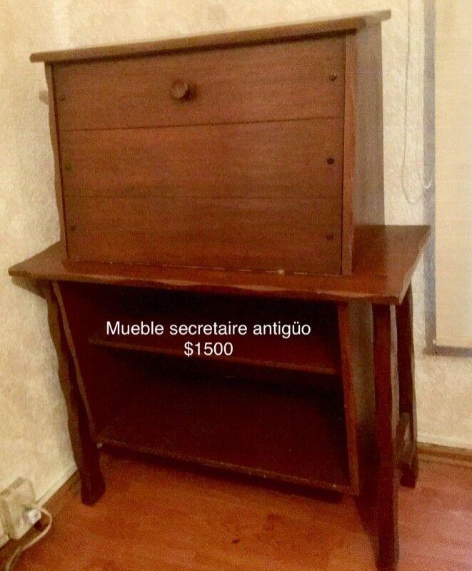 Mueble Antiguo Secretaire
