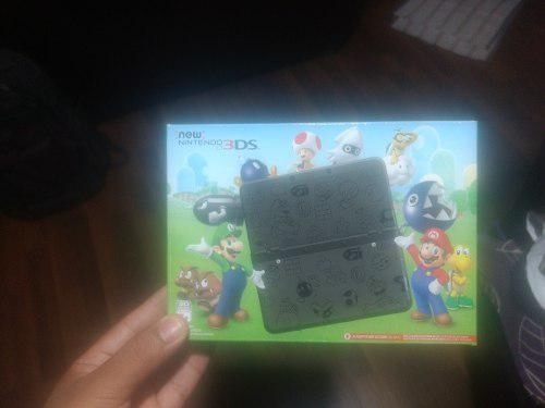 New Nintendo 3ds Super Mario Bros Black Edition Colección