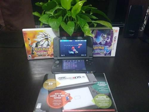 New Nintendo 3ds Xl + 2 Juegos De Pokemon Y Uno De Mariokart