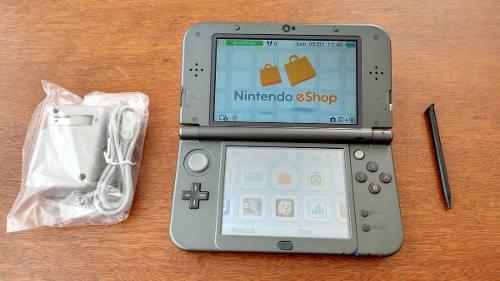 New Nintendo 3ds Xl Con Cargador Envío Gratis