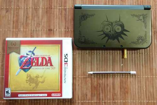 New Nintendo 3ds Xl Edición Majora´s Mask + 16 Gb,