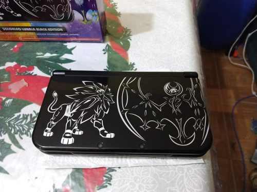 New Nintendo 3ds Xl Edicion Especial Pokemon Sol Y Luna