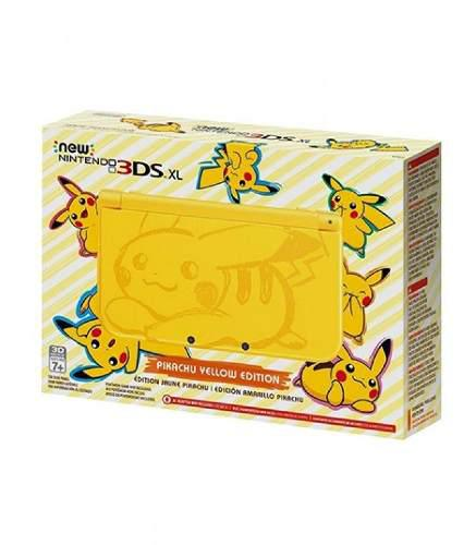New Nintendo 3ds Xl Edicion Pikachu::.. En Game Sale