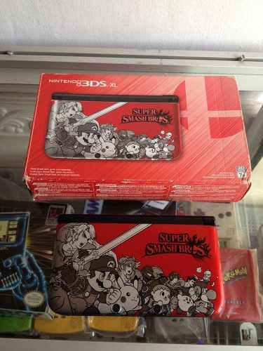 Nintendo 3ds Xl Edicion Super Smash Bros + Super Mario 3ds