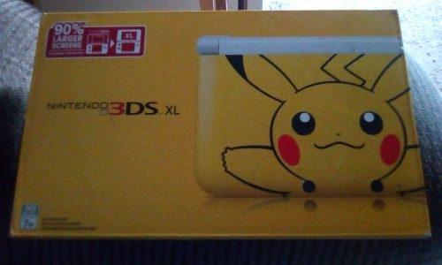 Nintendo 3ds Xl Version Pokemon Pikachu Juegos Fisicos