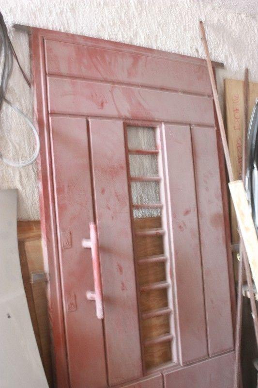 Puerta herreria excelente nueva sin usar 2m x115cm