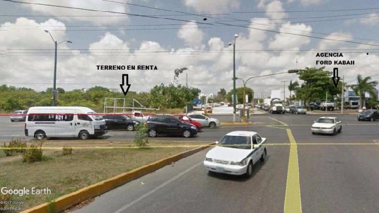 Renta de terreno comercial en Cancun, Quintana Roo