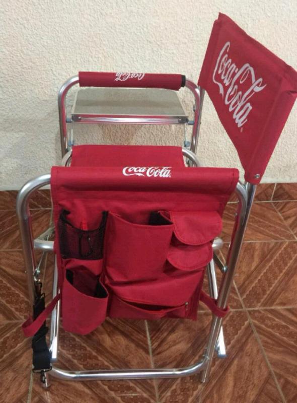 Silla plegable Coca Cola de Colección