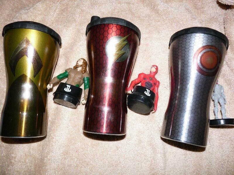 """Vasos de """"La Liga de la Justicia""""!!!"""