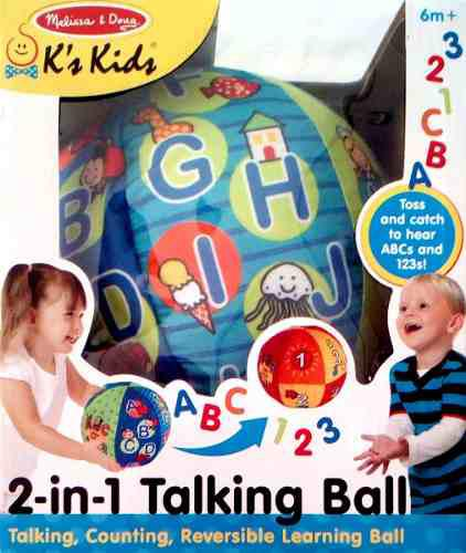 2 En 1 Pelota Que Habla Melissa & Doug - 2 In 1 Talking Ball