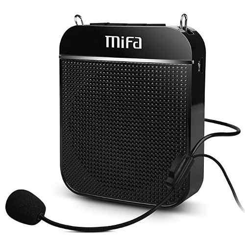Amplificador Portátil De Voz, Sistema De Pa Recargable Mifa