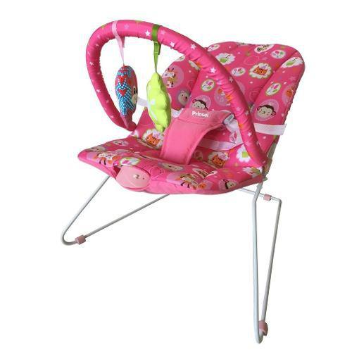 Bouncer Silla Para Bebe Safary Prinsel | Rosa Azul Msi