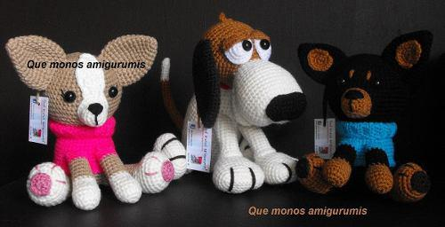 Chihuahueño Crochet Amigurumi Tejido A Mano