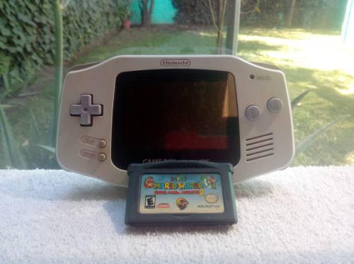 Consola Nintendo Game Boy Advance C/ Super Mario World Repro
