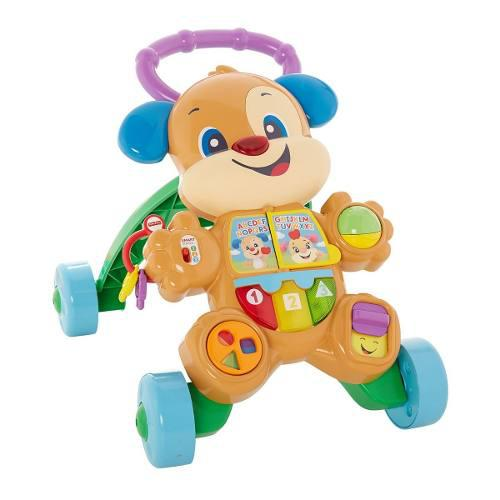 Fisher Price Laugh & Learn Perrito Andadera De Aprendizaje