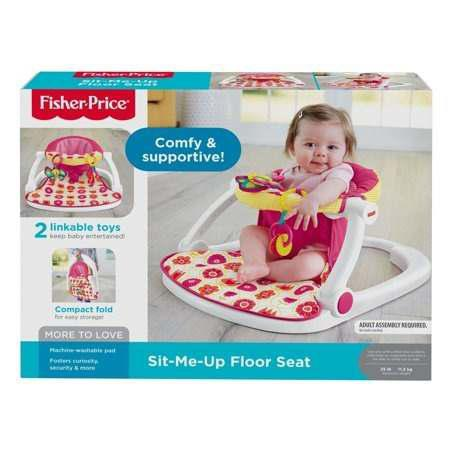 Fisher Price Sit Me Up Floor Seat, Silla Para Bebé Rosa