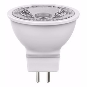 Foco Mr16 Led 6w Cob Led Blanco Calido Spot Gu