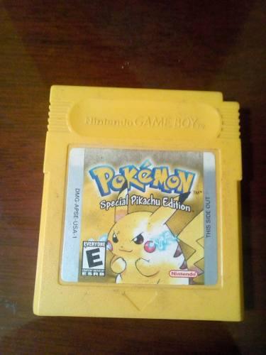 Gbc Nintendo Game Boy Color Pokemon Yellow Version Pikachu