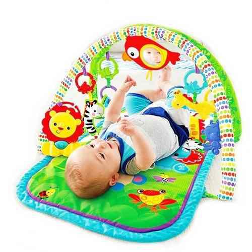 Gimnasio Musical 3 En 1 Gym Bebe Fisher Price 0+ Oferta