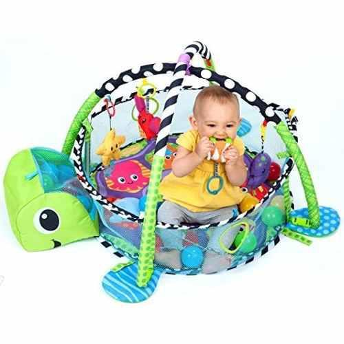 Gimnasio Para Bebes Juguetes Estimulacion Infantino 3 En 1