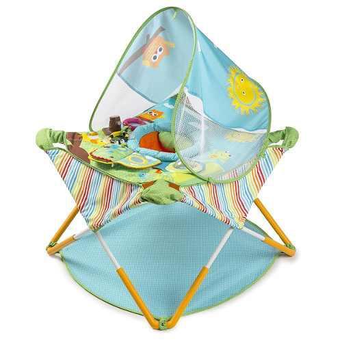 Gimnasio Para Bebés Summer Infant Cómodo Portátil -verde