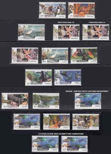 Mexico Conserva 2002-2005 Coleccion 42 Timbres Nuevos 3 Foto