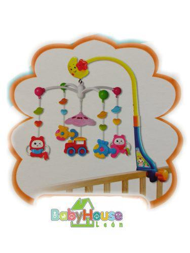 Movil Musical Para Cuna Aeiou Baby