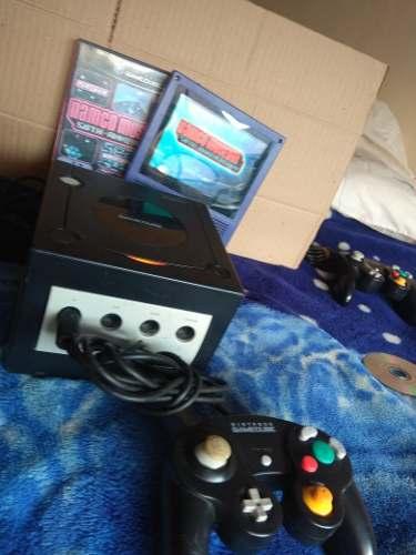 Nintendo Gamecube Negro Con Juego Namco Game Cube