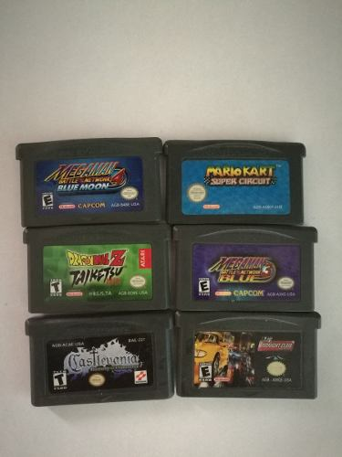 Pack Juegos Gameboy Advance / Sp/ Gameboy Color