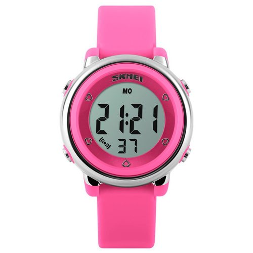 Reloj Skmei Digital Jovenes Niñas Cronómetro Alarma