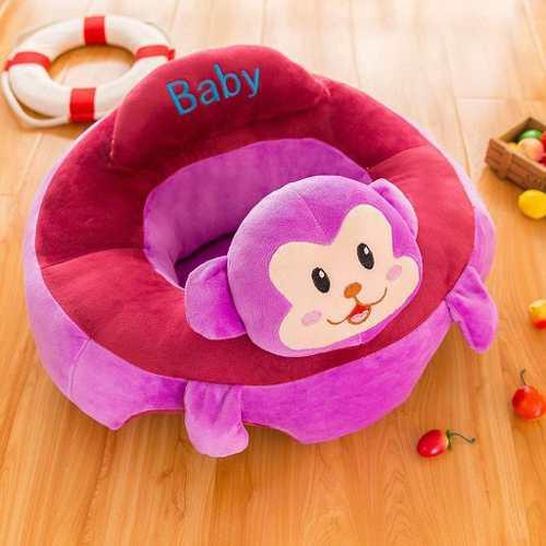 Sófa Soporte Aprender A Sentarse Bebé Monito Lila