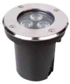 Spot Empotrable Para Piso Exterior Led 3w Ip67 Bc Lampara