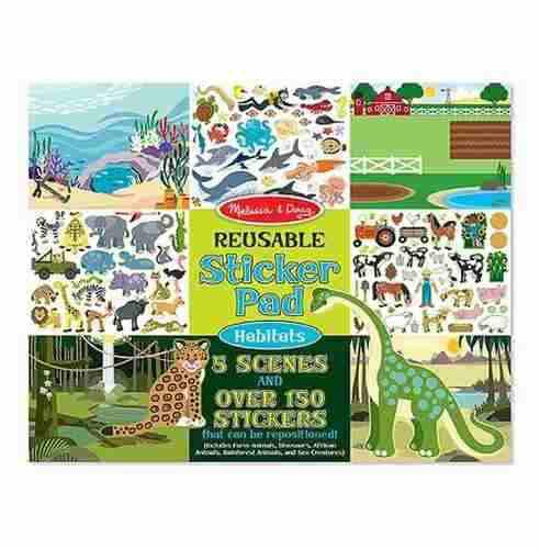 Stickers Reusables Hábitats Melissa And Doug Md07