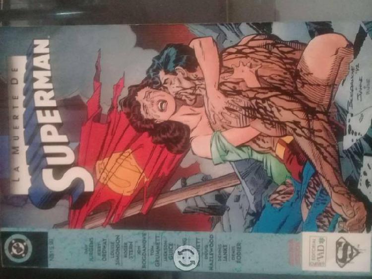 "Superman ""La muerte de Superman"""