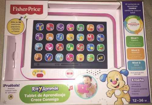 Tablet Para Bebe Fisher Price, Nueva En Caja. Juguete Bebe