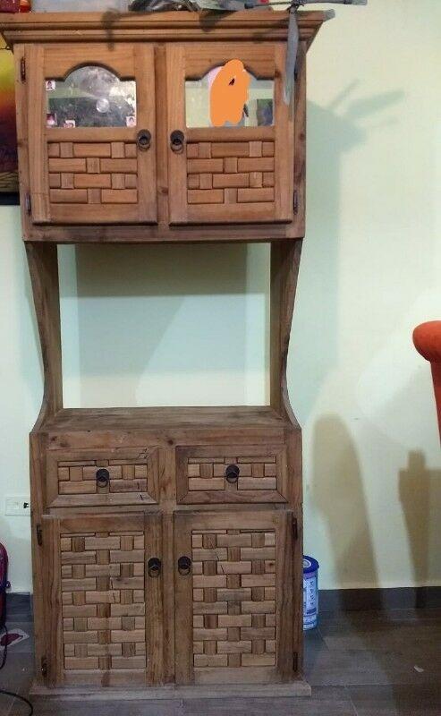 Alacena y mueble para tarja